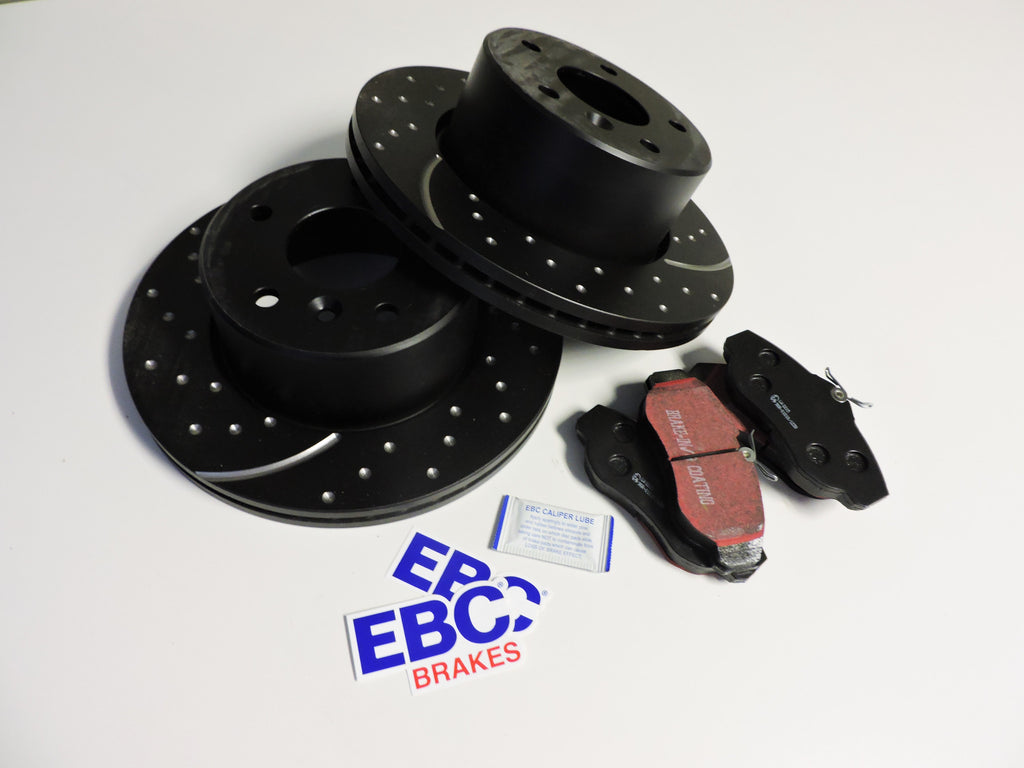 Discovery 2 Full EBC Brake Pad and Rotor Set - Front and Rear