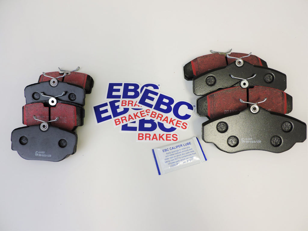 Discovery 2 Full EBC Brake Pad Kit Front and Rear