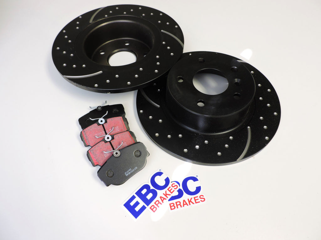 2005-2009 Land Rover LR3 EBC Brake Kit - V8 Rear