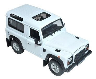 2007 Alpine White Defender 90 1:24 scale Diecast Model