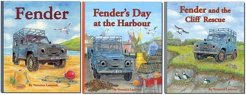 All 3 books from the Fender series