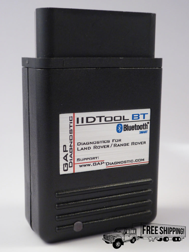 Gap Diagnostic IIDTool Bluetooth connectivity
