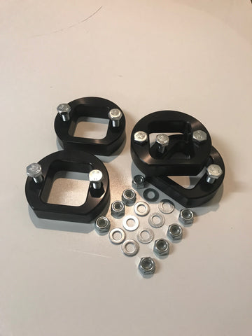 Lucky8 1in Spring Spacers front and rear