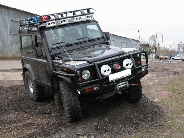 ARB Defender 90 Winch Bumper