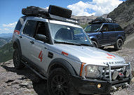 Baja Rack Adventure Equipment LR4 (2010-2011) EXP (Roof Top Tent) Rack (For vehicles with NO rear factory rails)