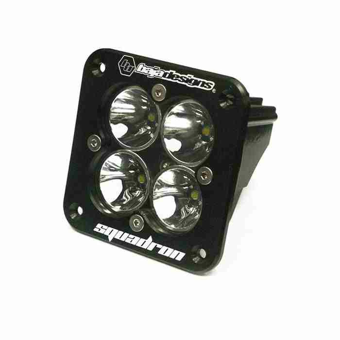 Baja Designs Squadron Pro, LED Driving, Flush Mount