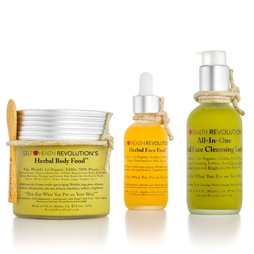 Herbal Face Food Ultimate Trio