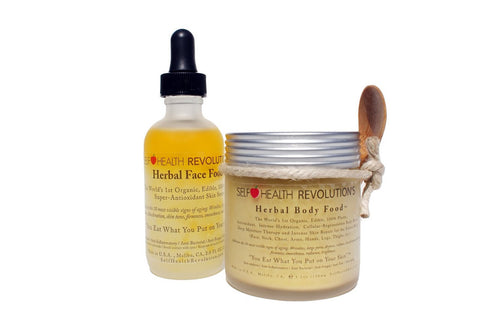 Herbal Face and Body Food Collection