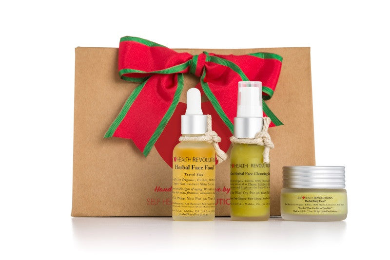 Herbal Face Food Holiday Gift Set