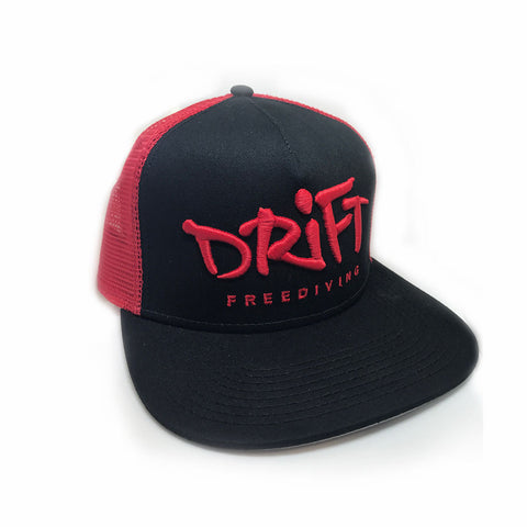 "Drift ""Blk/Red"" Hat"
