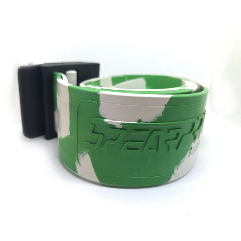SpearPro White/Green Weight Belt