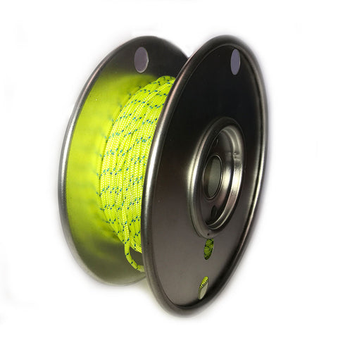 Hammerhead Dyneema 125ft Reel Fill-Yellow