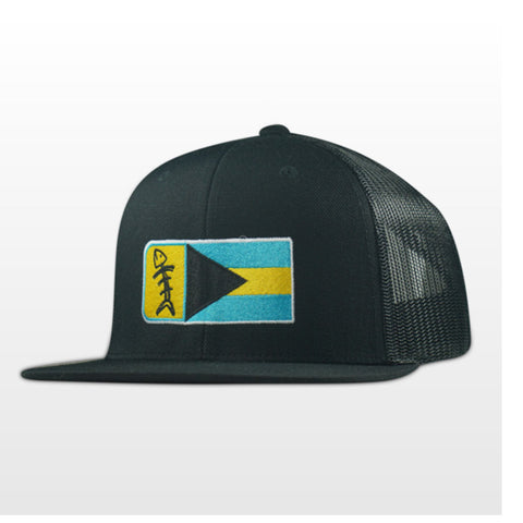 Speared Bahamian Flag Premium Hat