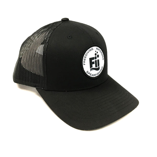 F.I.I. Logo Curved Bill Snapback Hat