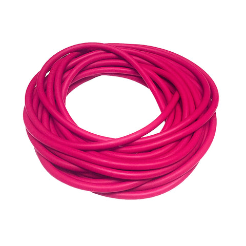 Hot Pink Rubber (per foot)