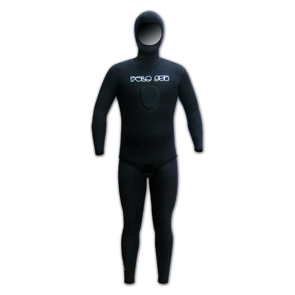 Polosub Black open cell wetsuit