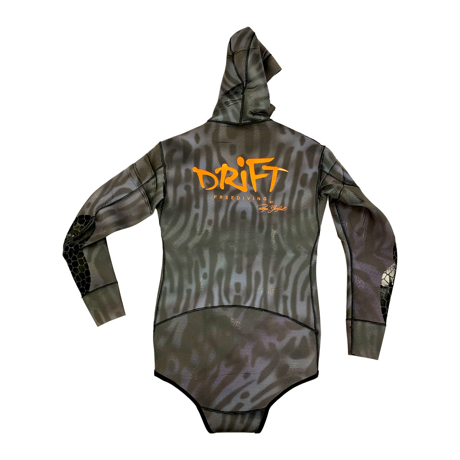 """Drift """"Sand Tiger"""" Wetsuit Jacket - Back view"""