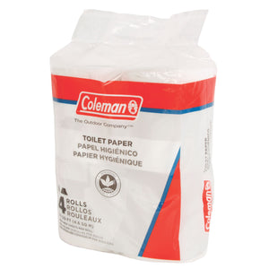 Coleman RV or Camping Toilet Paper - 4 Rolls - Set of 2 (8 Rolls Total)