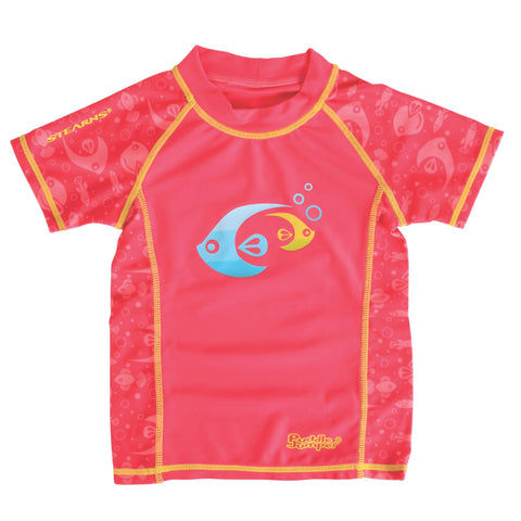 Stearns Child Swim Shirt Medium Pink