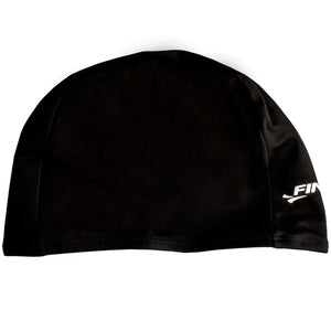 Finis Spandex Solid Black Swim Cap