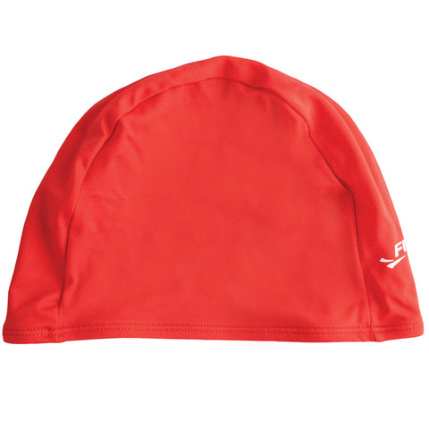 Finis Spandex Solid Red Swim Cap