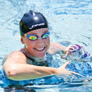 Finis Swim Goggles Lightning Blue/Mirror