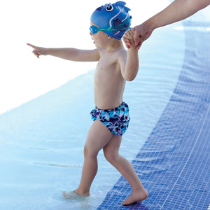 Finis Swim Diaper Shark Camo