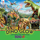 Ceaco Dino Party Glow in the Dark 100 Piece Jigsaw Puzzle