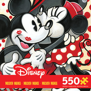 Ceaco Disney Mickey Mouse Mania - Hugs and Kisses 550 Piece Puzzle