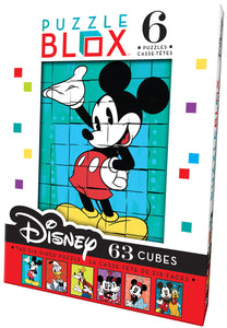 Ceaco Disney Puzzle Blox - 63 Piece 6 Sided Puzzle