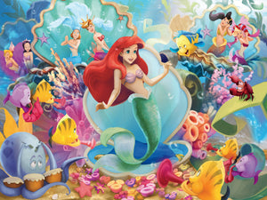 Ceaco Disney The Little Mermaid Ariel and Friends 300 Piece Jigsaw Puzzle