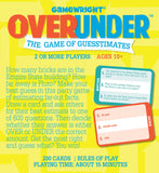 Gamewright Over/Under