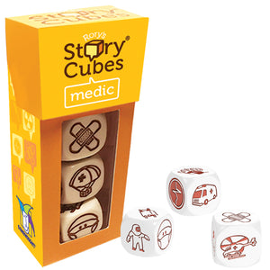 Gamewright Rory's Story Cubes Mix - Medic