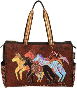 Laurel Burch Native Horses Travel Bag
