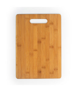 Customizable Rectangle Bamboo Cutting Board with Handle