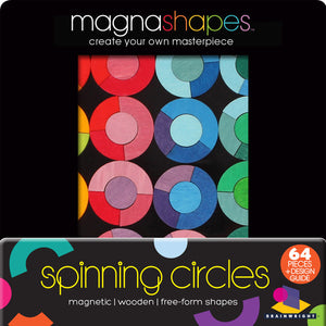 Brainwright MagnaShapes Spinning Circles Puzzle