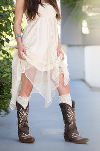 Bootights Lacie Lace Darby Boot Sock