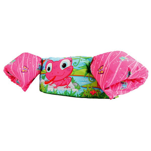 Stearns Pink Frog Deluxe Puddle Jumper - CGA Life Jacket