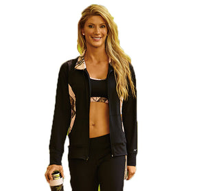 Wilderness Dreams Black and Pink Active Jacket