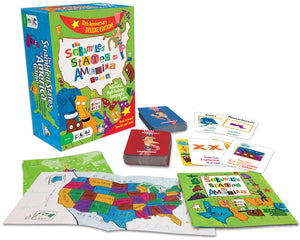 Gamewright Scrambled States Deluxe Edition Game