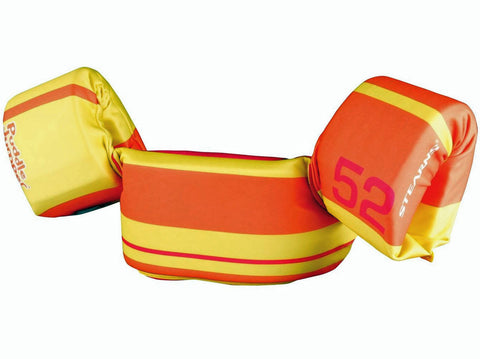 Orange/Yellow Tahiti Series Antimicrobial Puddle Jumper Children's CGA Life Jacket and PFD
