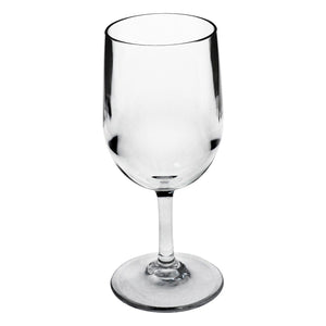 Strahl Polycarbonate 8oz Classic Wine Glass - Set of 4