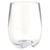Strahl Osteria Polycarbonate 8oz Stemless Wine Glass