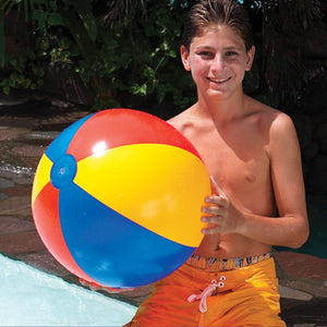 "Swimline 24"" Multi-Color Beach Ball"