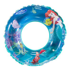 Swimways Little Mermaid Ariel Disney Princess 3-D Swim Ring