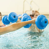Texas Recreation Water Exercise Bar Bells - Blue