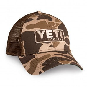 YETI Classic Camo Hat with Patch Logo