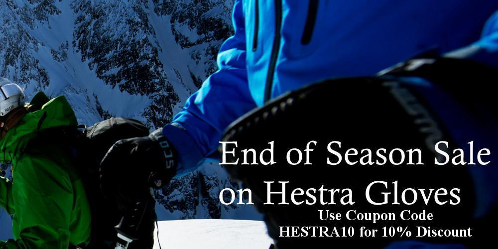 End of Season Hestra Gloves Sale