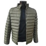 Olive Green Puffer Jacket