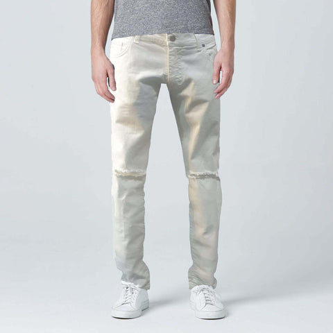 Slim Fit White jeans